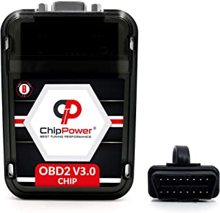 ChipPower Performance Chip OBD2 v3 compatible with Mercedes M-Class ML 400/500 W166 Gasoline - Increase Horsepower Plug&Drive Tuning Programmer