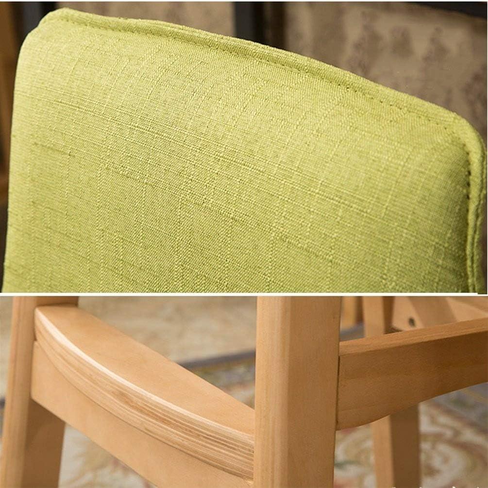 Chaise De Bar en Bois Massif Chaise De Loisirs Chaise De Repos Chaise De Repos en Bois Massif Chaise Haute FENPING (Couleur : C) A
