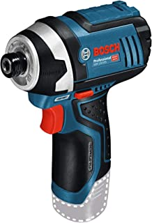 Bosch Professional 06019A6901 12 V System GDR 12V-105 Cordless Impact Driver (Excluding Rechargeable Batteries and Charge...