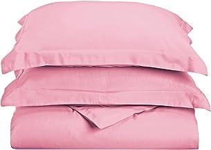 مجموعة أغطية لحاف فائقة الجودة 100% من الألياف الدقيقة الناعمة 1500 سلسلة مع أغطية وسائد مزخرفة، سرير فاخر مقاوم للتجاعيد ...