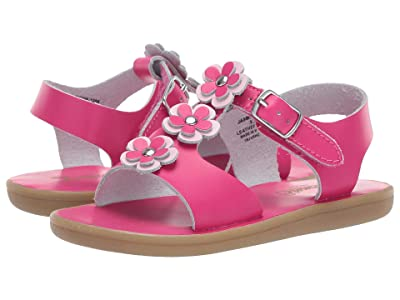 FootMates Jasmine (Infant/Toddler/Little Kid) (Hot Pink) Girl