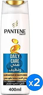 Pantene Pro-V Daily Care Shampoo 2 x 400 ml Dual Pack