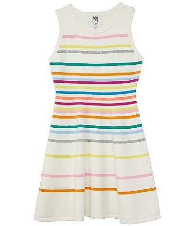 Milly Minis Rainbow Stripe Flare Dress (Big Kids) Girl