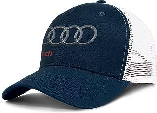 Audi-Logo- Unisex Mesh Ball Cap Adjustable Snapback Dad Hat