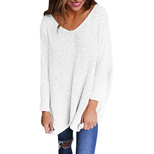Jerseys de Punto Mujer Sueter Tejido Señora Suéter Mujeres Jersey Oversize  Largo Sweaters Largos Sueteres Tejidos a6be86ebdebe