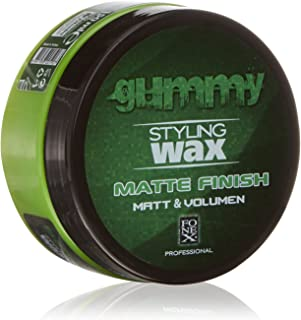 Gummy Styling Wax Matte Finish Matt & Volume, 5 Ounce