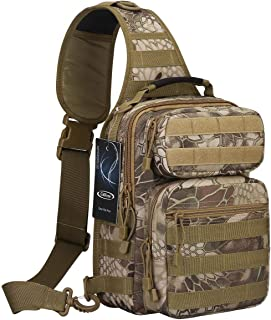 G4Free Fishing Tackle Sling Bag Tactical Backpack Molle EDC Range Small Chest Pack