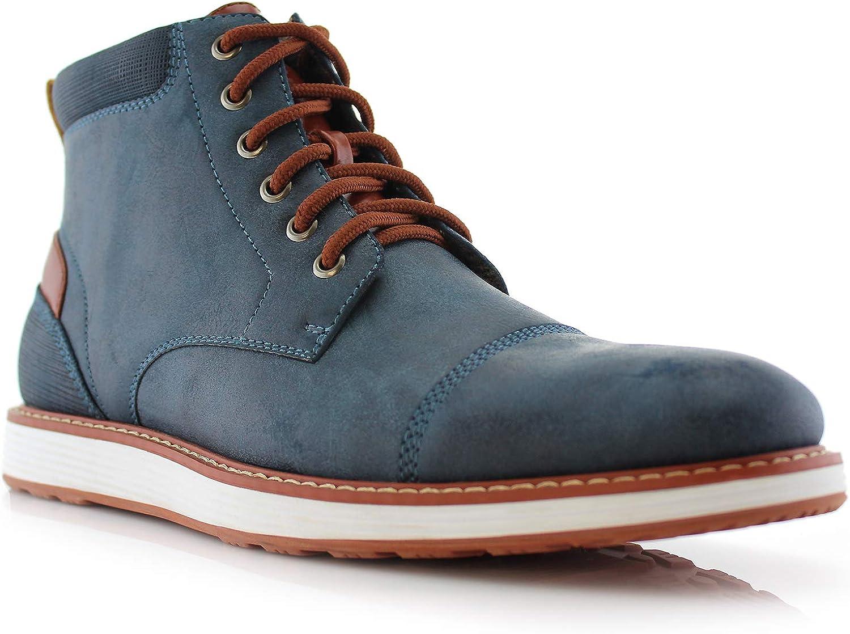 Ferro Aldo BIRT MFA506027 Men's Stylish Hi Top Boots for Casual Wear
