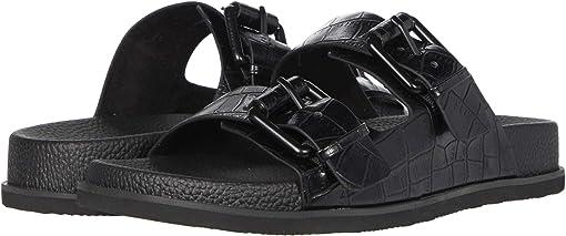 Black/Croc Smooth
