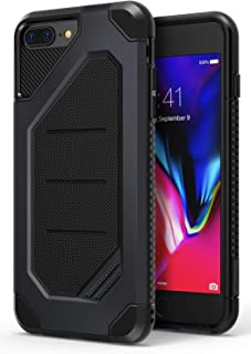 Ringke Max Designed for iPhone 7 Plus Case, iPhone 8 Plus Case Heavy Armor Strength Resistant Protective Phone Cover - Slate Metal