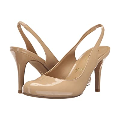 Trotters Gidget (Nude Soft Patent Leather) High Heels