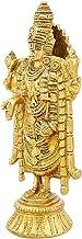 Brass Statue Standing Balajee Venkateswara Religious Items for Puja 7 Inch,Weight-925 Grams