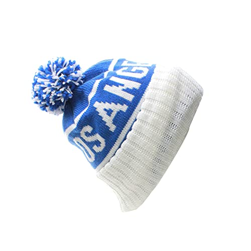 df275963679 American Cities USA Favorite City Cuff Cable Knit Winter Pom Pom Beanie Hat  Cap