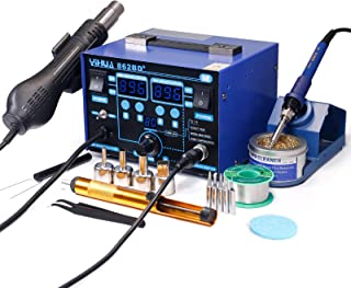 YIHUA 862BD+ SMD ESD Safe 2 in 1 Soldering Iron Hot Air Rework Station °F /°C with..