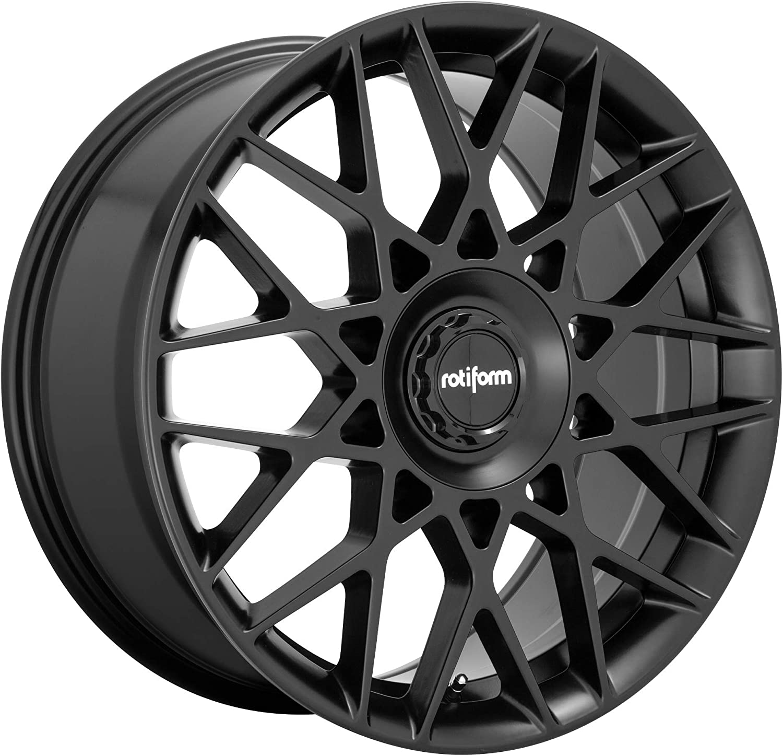 Rotiform 1PC R165 BLQ-C Custom Wheel: National products 112mm P 19x8.5 Size Limited time cheap sale 5 Lug