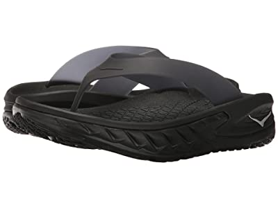Hoka One One Ora Recovery Flip (Black) Men