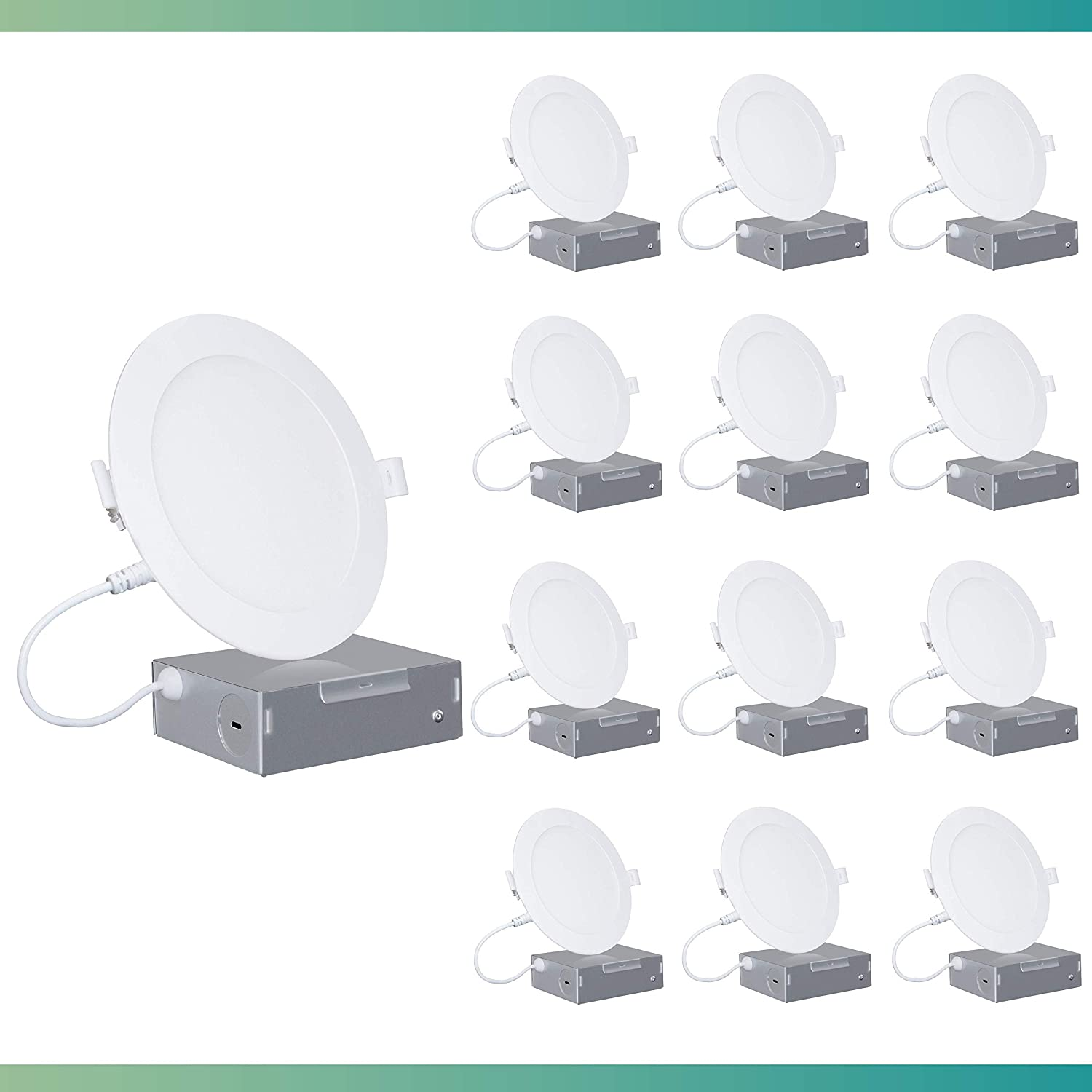 Infibrite 4 Inch Super special price 6000K 9W Ceiling LED 750LM Max 47% OFF Recessed Ultra-Thin