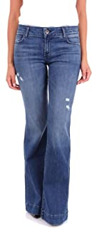 J brand Women's JB000386BLUE Blue Cotton Jeans