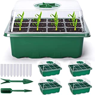 2 St/ück Nerplro Pflanzen-Anzuchtschalen aus Kunststoff
