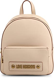 Love Moschino Logo Backpack in Brown - brown - NOSIZE