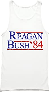 HGOS Reagan Bush 84 Tank Top - Ronald Reagan Republican Presidential Campaign Tank Top - Reagan Bush 1984