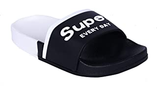 Walk Well Shoe Fashion EVA Kids Flip Flop Slipper Boys & Girls Black