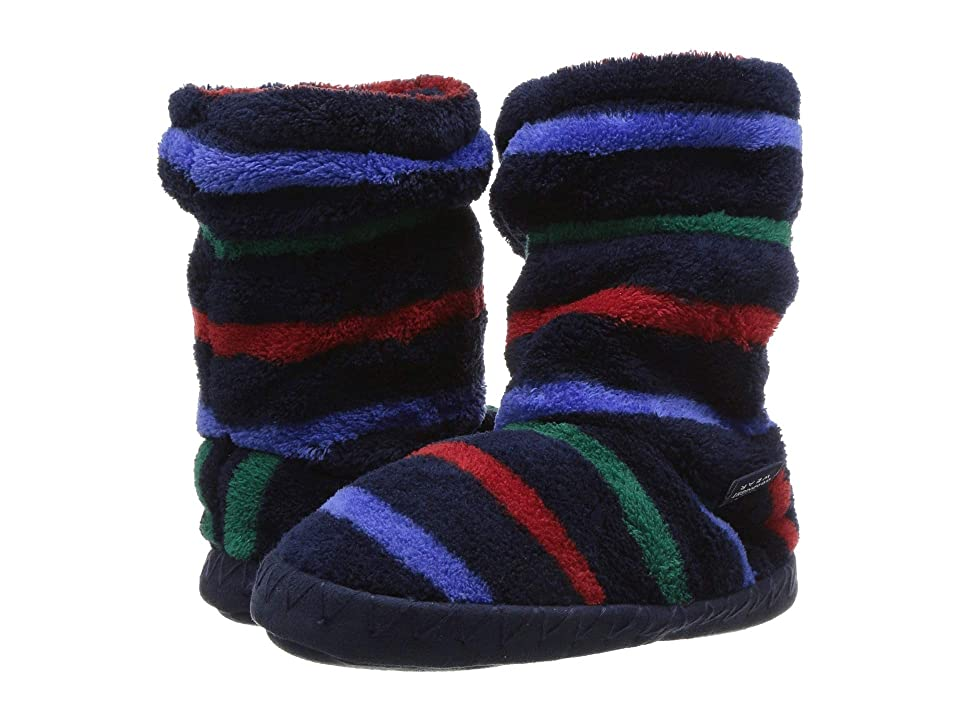 Joules Kids Fleece Lined Slippersock (Toddler/Little Kid/Big Kid) (Multi Stripe) Boys Shoes