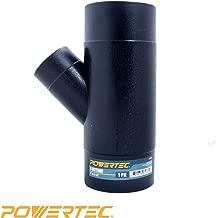 POWERTEC 70190 Y-Fitting, 4 x 2-1/2