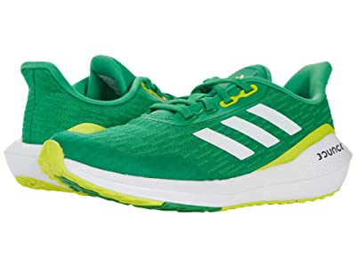 adidas Kids EQ21 Run (Big Kid) (Vivid Green/White/Acid Yellow) Kid