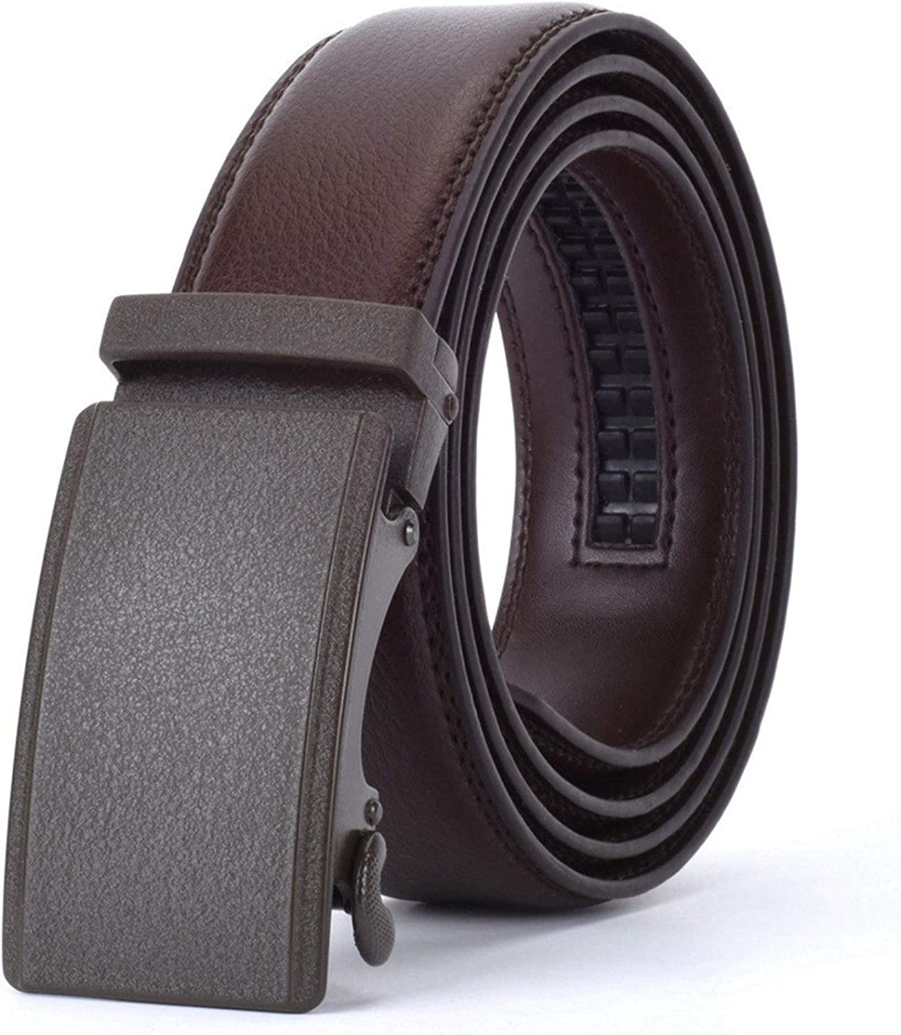 YWSZY Casual Leather Don't miss the campaign Belt Men's Ratchet We Automatic latest Buckle