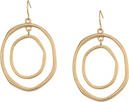 The Sak - Large Metal Orbit Earrings