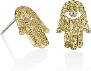 Best hamsa gold earrings Reviews