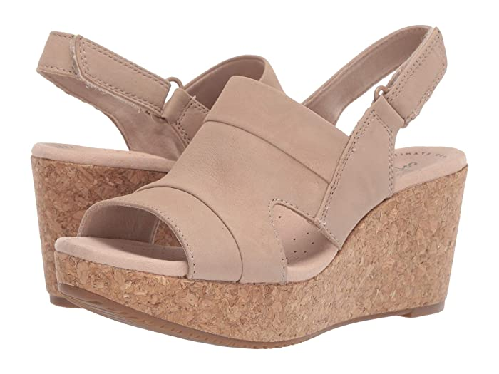 Clarks  Annadel Ivory (Sand Nubuck) Womens  Shoes