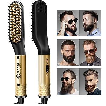 Alexsix Round Barrel Hair Brush, Professional Thermal Ceramic Ionic Round Barrel Hair Brush Comb with Boar Bristle,Hair Dryer Brush, Round Brush for