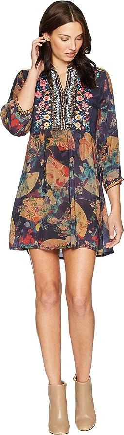 Fusai Floral Tunic Dress