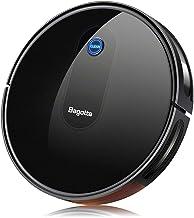 "Robot Vacuum, Bagotte Max Power Suction Robotic Vacuum Cleaner, 2.7"" Super Thin & Quiet, Large Dust Bin, Self-Charging, Ideal for Pet Hair, Carpet, Hardwood Floors"