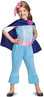Disney Pixar Bo Peep Toy Story 4 Classic Girls' CostumeSmall (Ize/4-6X) Blue