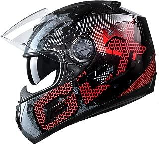 Best black helmet silver visor Reviews