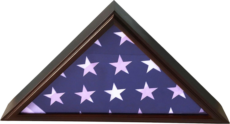 DECOMIL 5'x9' Flag Display unisex Case American Burial favorite for Veteran