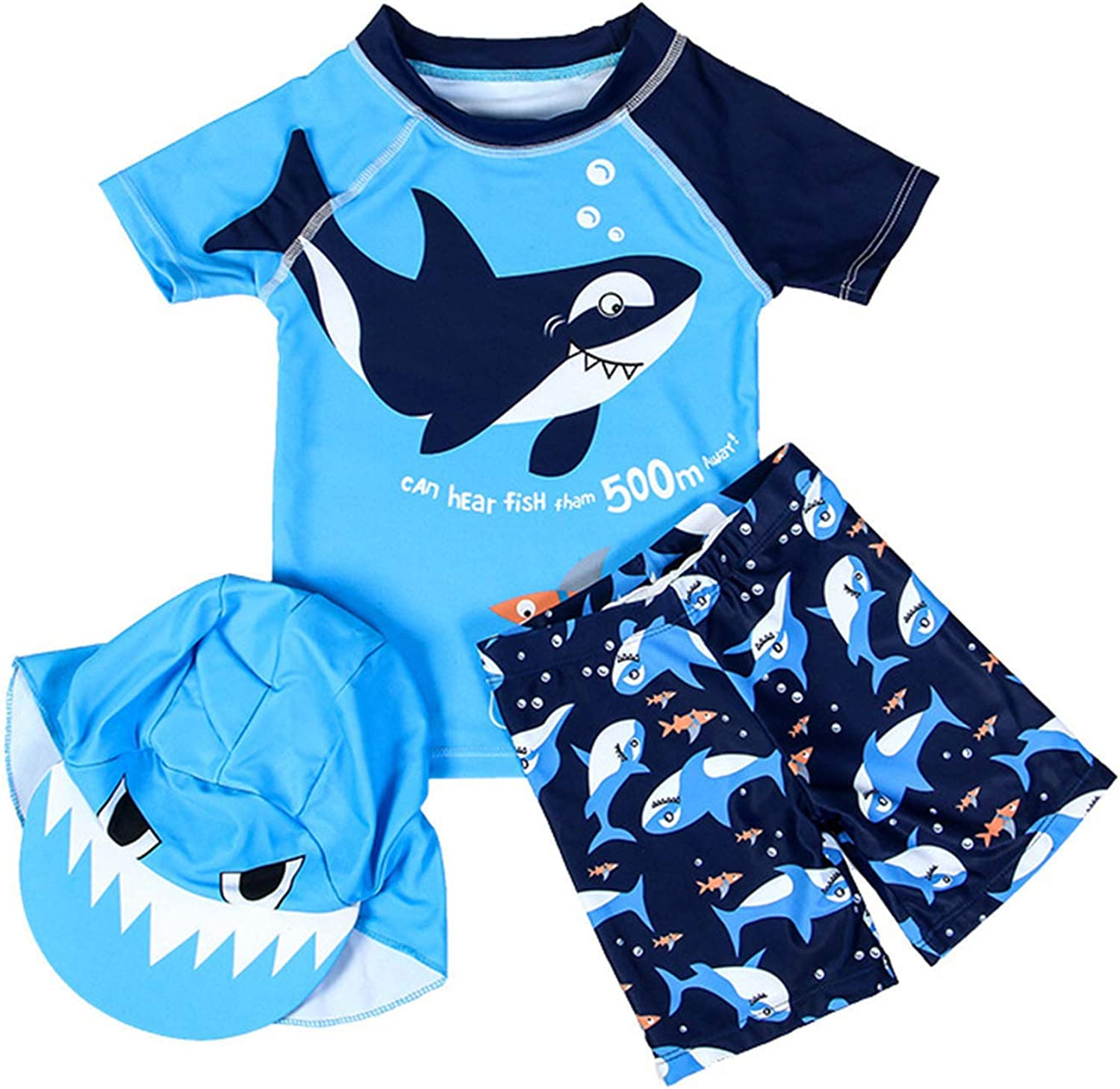 Baby Toddler Boys 3-Pieces Swimsuit Suits Bathing online Outlet sale feature shopping Swi Guard Rash