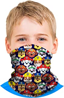 Nickelodeon Boys Paw Patrol Gaiter Face Mask with UV Sun Protection