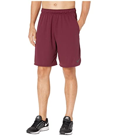 Nike Dri-FIT 9 Training Short (Night Maroon/Black) Men