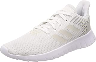 adidas Asweerun Women's Running Shoe, Footwear White/raw White/Grey