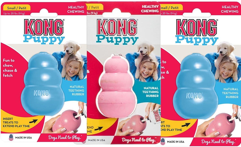 (3 Pack) Kong Small Puppy Kongs