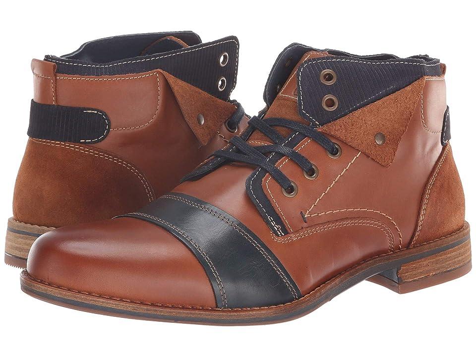 PARC City Boot Jasper (Cognac/Navy) Men