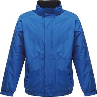 Regatta Men's Regatta Professional Dover Fleece Lined Waterproof Jacket Plain Turtleneck Long Sleeve Jacket, Blue (Oxford ...