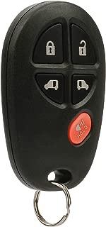Key Fob Keyless Entry Remote fits 2004-2016 Toyota Sienna (GQ43VT20T 5-Btn)