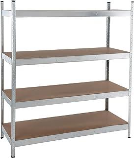 Regal 180x60x40 verzinkt Steckregal Palettenregal Wandregal Schwerlastregal Stahlregal Lagerhaltung