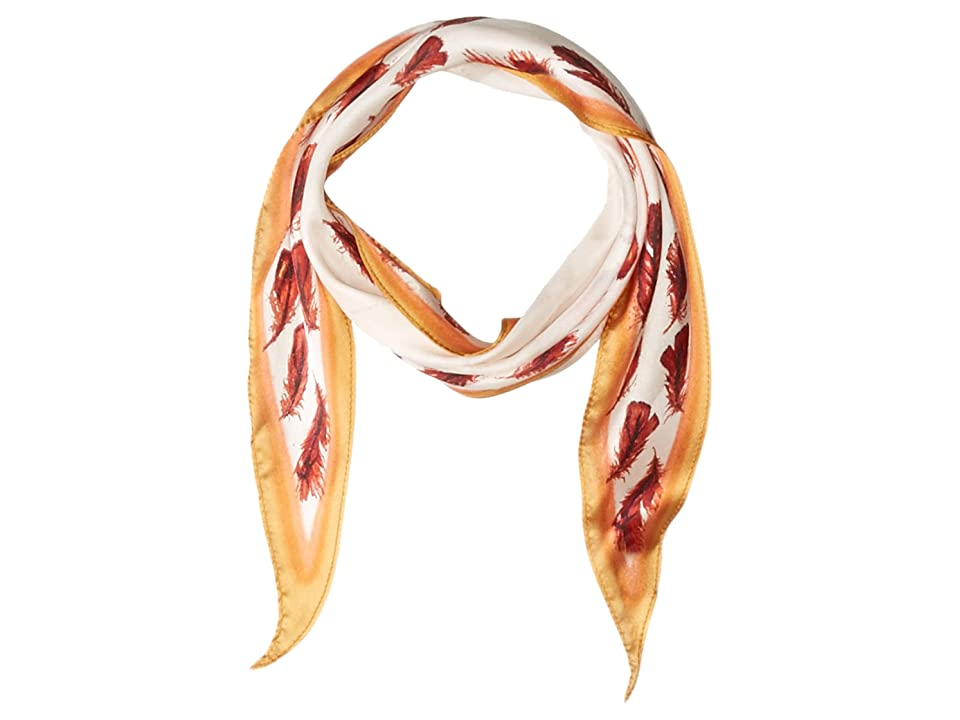 Vince Camuto Feather Kite (White Bright) Scarves, Multi