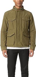 Scotch & Soda Men's Ams Blauw Military Jacket, Green